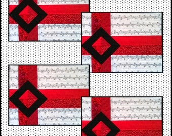 Gift Wrapped- a Placemat PDF Pattern