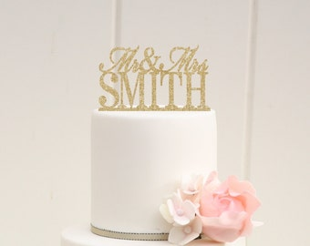 glitter wedding cake topper glitter wedding cake topper mr and mrs topper design with your 14723