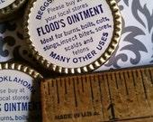 Antique 1930's Flood's Ointment Metal Tin   Medical   Oklahoma