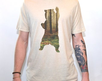 Bear T-Shirt Men's Graphic T Shirts By Artisan Tees