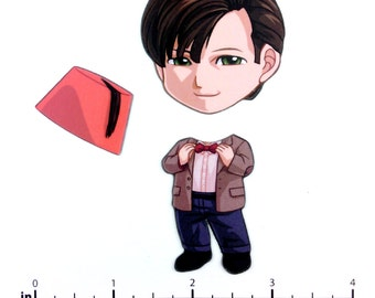 Mix and Match Magnets: Eleventh Doctor (Doctor Who)