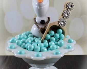 Frozen Inspired Beaded Scoop, Candy buffet, Party Favor, Wedding, Birthday