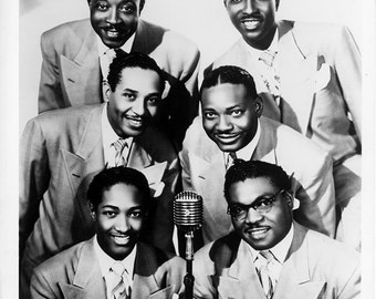 The Soul Stirrers Publicity Photo  8 by 10 Inches