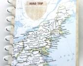 USA Travel Journal Road Trip Scrapbook Album Honeymoon Engagement Retirement Graduation Gift Birthday Gift