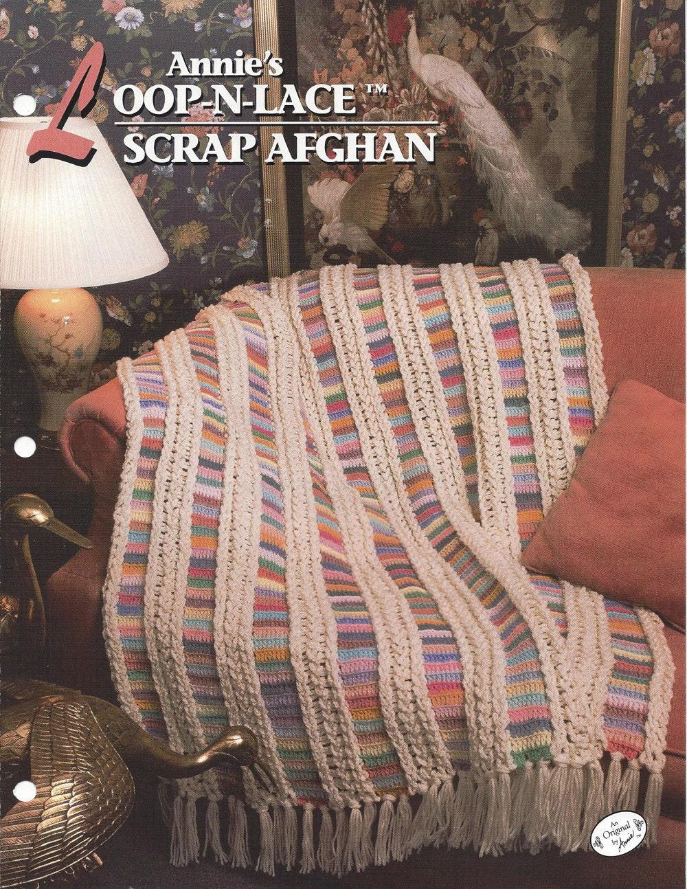 Annie S Culinary Creations Part 2: Annie's Loop-N-Lace Scrap Afghan Annie's Crochet