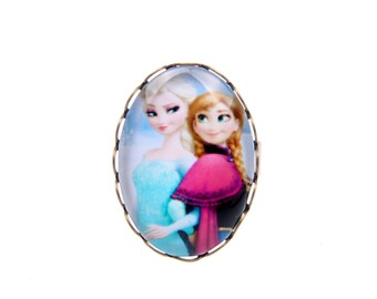 Bague Snow Queen ELSA and ANNA