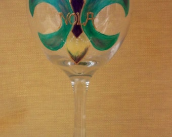 NOLA Wine Glasses-Celebrate New Orleans in Style