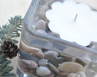 "100% Soy Floating Candles, Beautiful for Centerpieces or to Float in the Pool for Patio Ambiance, Choose Your Scent,  2 1/2"" around"