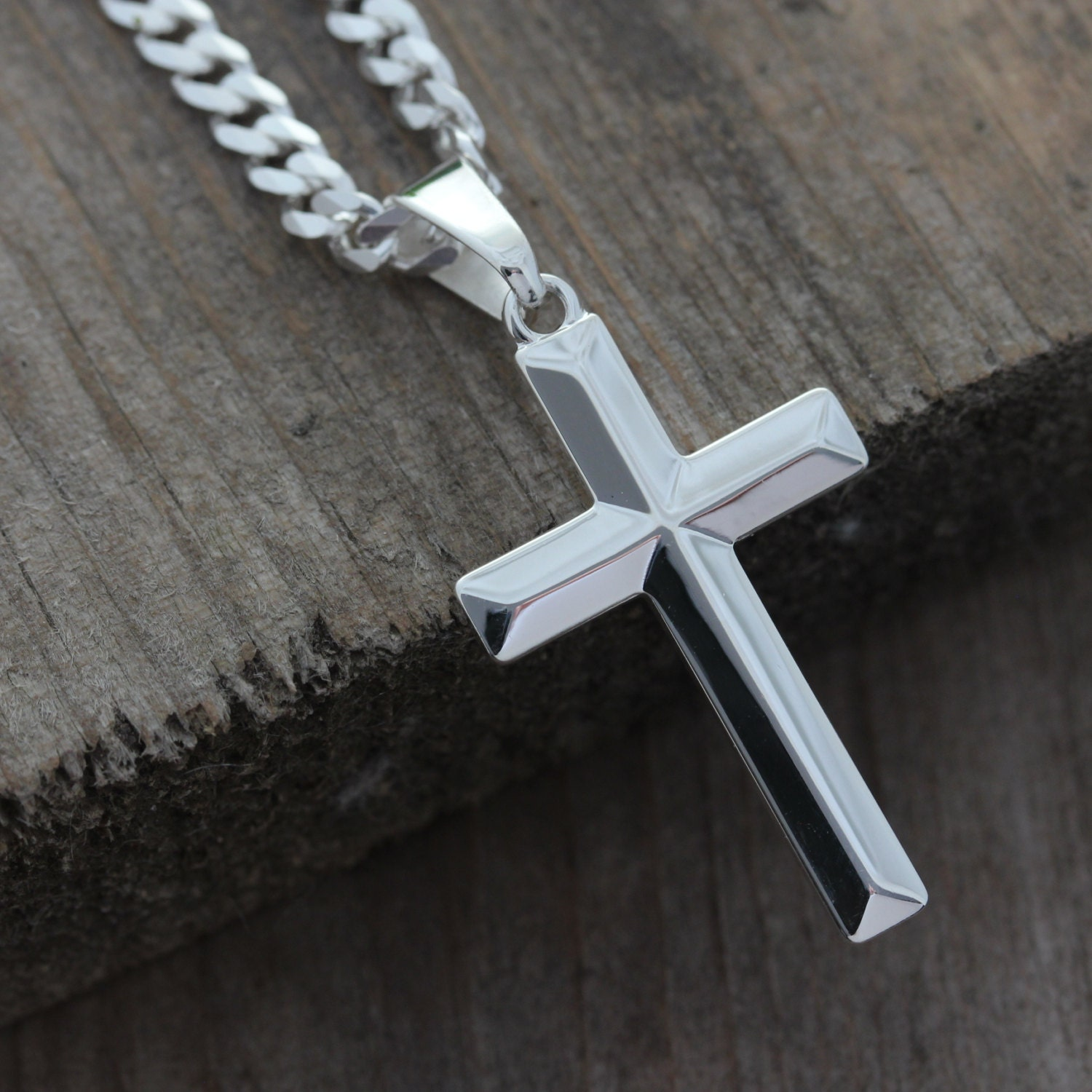 New sterling silver cross necklaces for men jewellrys website sterling silver cross necklace elegant uni sterling silver aloadofball