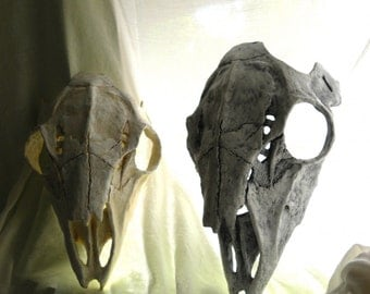 Deer Skull Mask - Bone Mask- Made to Order