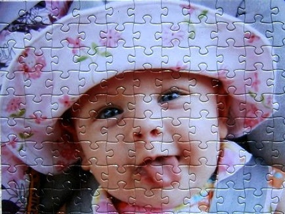 Personalized Photo Puzzle in a variety of piece counts. Measures approximately 16x20 when complete. Extra Large Personalized Puzzle.