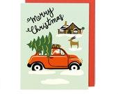 Christmas Car Card - Singles & Box Set