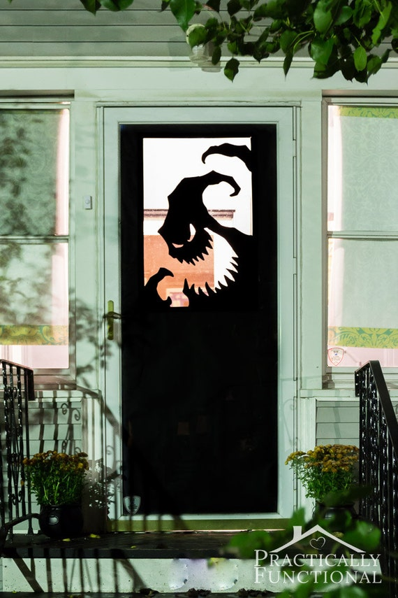 Items Similar To Halloween Vinyl Door Decal Or Window