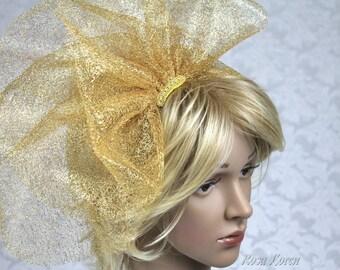 Gold Wedding Veil, Short Gold Veil, Gold Veil for Wedding, Short Veil for Bride, Gold Bridal Veil, Gold Veil Bridal