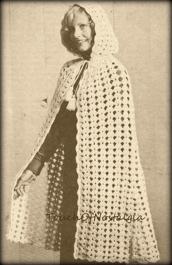 Free Crochet Cloak Pattern