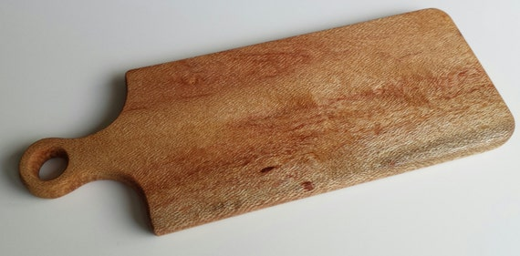 how to clean a wooden chopping board uk