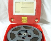 1980's Era Snuffy's Fire Safety Brigade Film Reel | Burger King Franchise Shipping Container