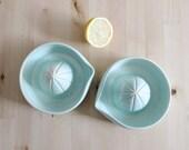 Ceramic juicer Mint squeezer Lemon juicer Kitchen decor Wheel thrown ceramic - ready to ship