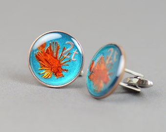 Cufflinks Fish Papua New Guinea