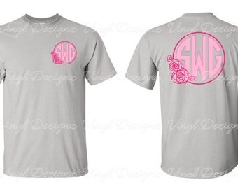 Monogram Prom or Wedding Shirt, Personalized Prom or Wedding T-Shirt, Prom, Bridal, Wedding Shirt