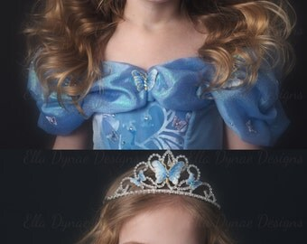 Cinderella Accessories (New 2015 Style) Gloves & Tiara