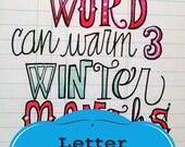 Letter Whimsy EWorkshop, ON SALE!