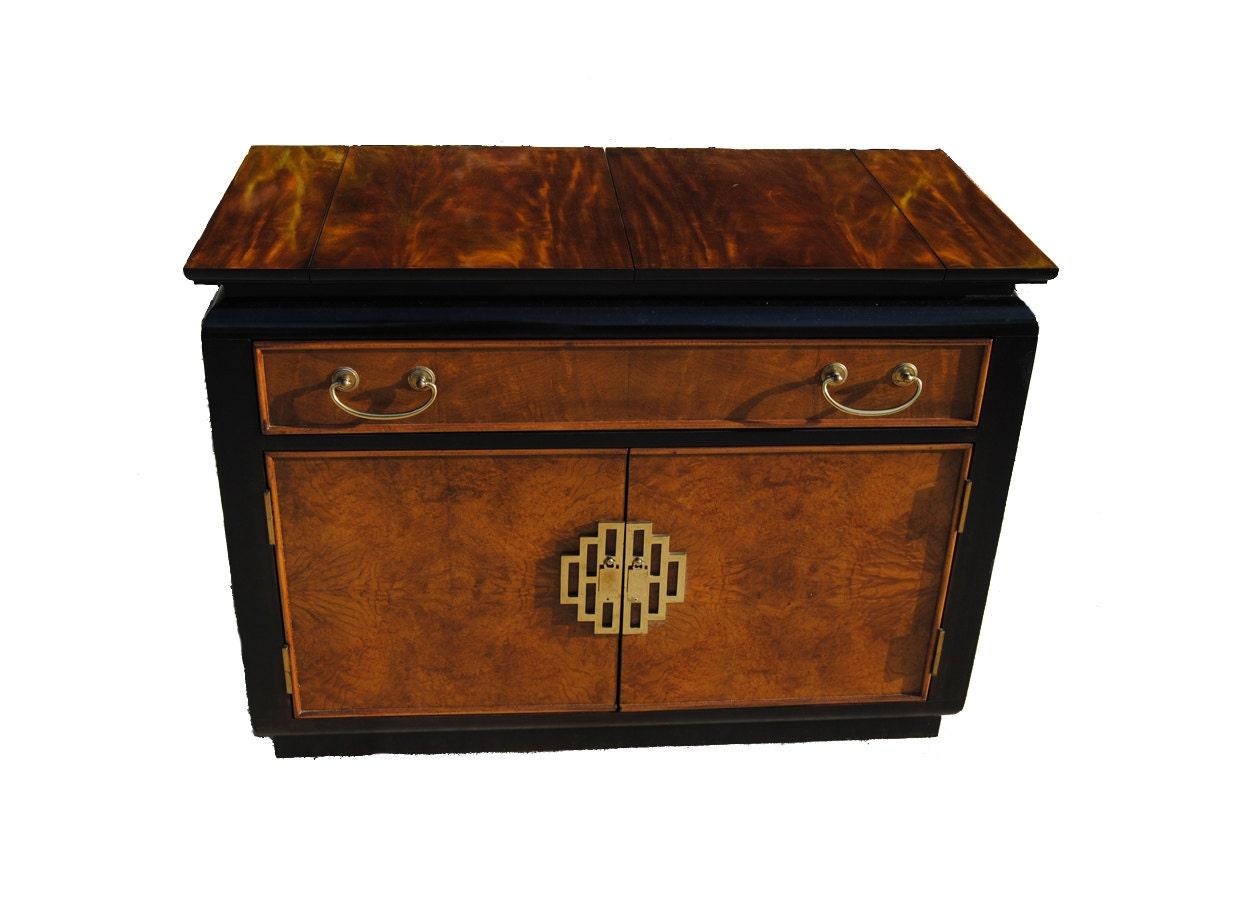 Vintage Century Furniture Chin Hua Buffet Bar Asian Motif