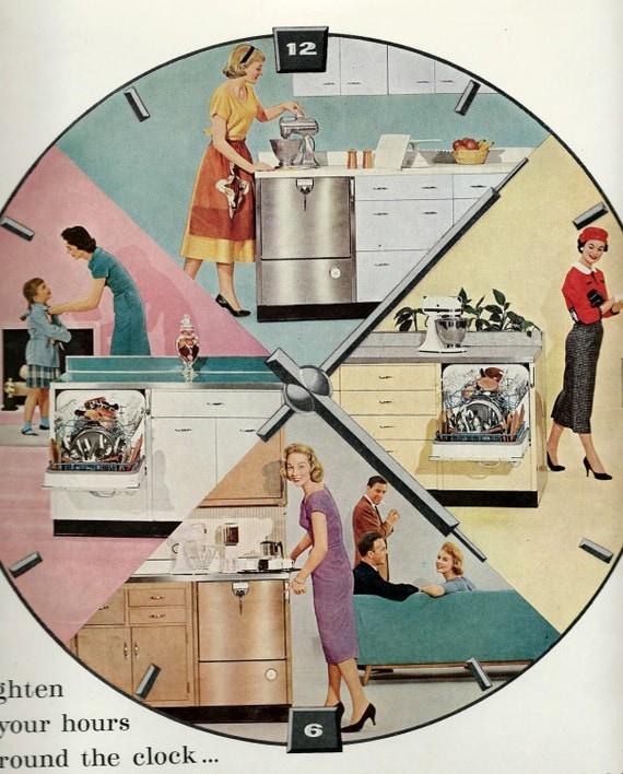 Kitchen Art 88: 1957 KitchenAid Ad Appareils D'aide De Cuisine Vintage