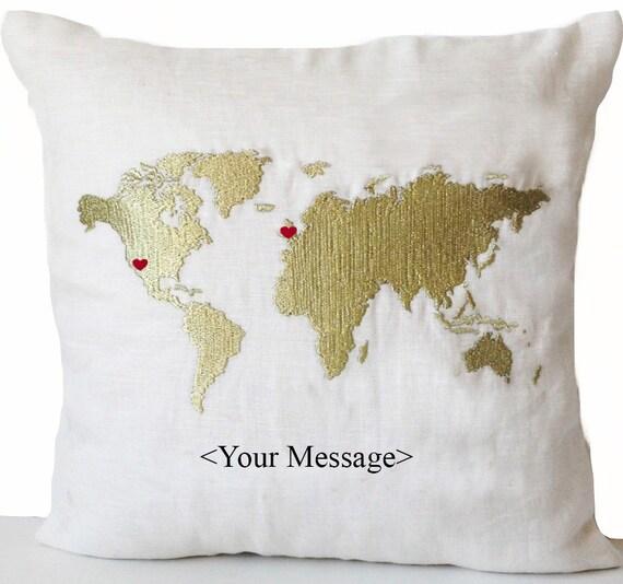 long distance beziehung kissen langstrecken kissen. Black Bedroom Furniture Sets. Home Design Ideas