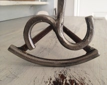 Rustic Hand-Forged Custom Branding Iron - The Heritage Forge
