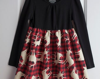 Items Similar To Christmas Joy Holiday Tshirt Dress Bbcb