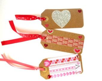 Valentine Gift Tags--Set 1