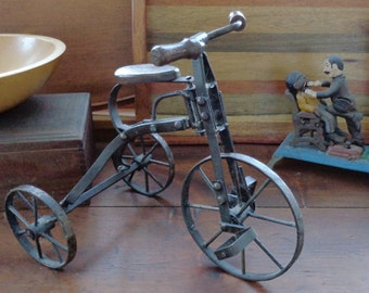 Vintage Toy Tricycle 3 Wheel