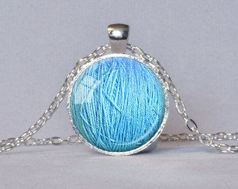 KNITTER'S JEWELRY Knitter's Necklace Ball of Yarn Necklace Knitter's Gift for Knitter Knitting Jewelry Knitter's Pendant Choice of Colors