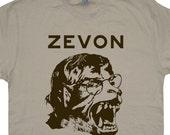 Warren Zevon T Shirt Werewolves of London Vintage Rock Tee Soft women's / mens t shirts