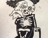 Ole Miss Hotty Toddy University of Mississippi SEC Football Sugar Skull T-Shirt