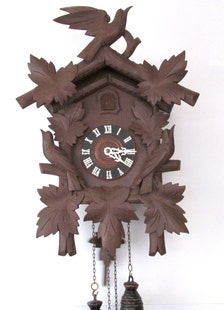 Popular Items For Wood Carved Clock On Etsy