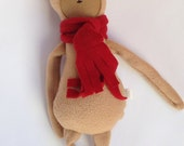 reindeer doll, plush toy, plush doll, fabric doll