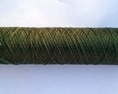 Tudor Style Silk Thread for Renaissance/Elizabethan Reenactment - Bottle Green