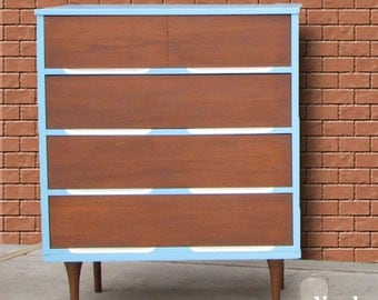 Items similar to the gracie toy box storage chest for Mid century modern toy box