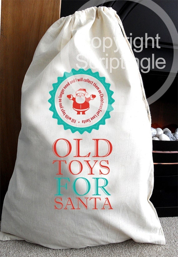 Sack Of Toys For Christmas : Old toys christmas collection sack for santa clear some