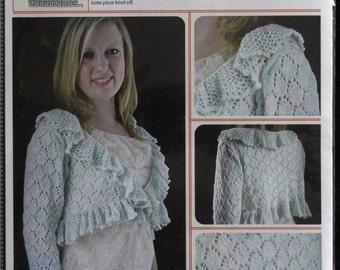 Pattern,Shrug Pattern,Highclere Shrug Knitting Pattern,Knitting Pattern,Crochet Edge,Airy Pattern,Trendy Pattern,Stylish Pattern,