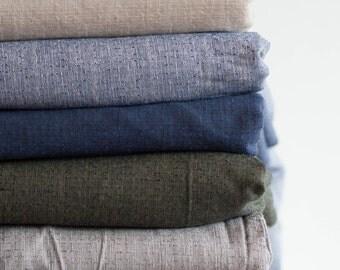 Lightweight Cotton Fabric - by the yard, Vintage Lightweight Fabric Yardage, Sewing Supply - DIY