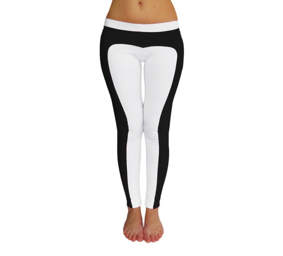White Yoga Leggings - Trendy Clothes