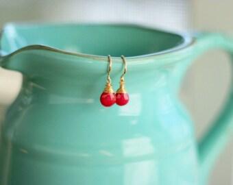 FAR ABOVE Ruby Earrings