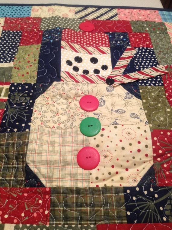 table etsy handmade Runner Table  SALE!!! Snowman runners