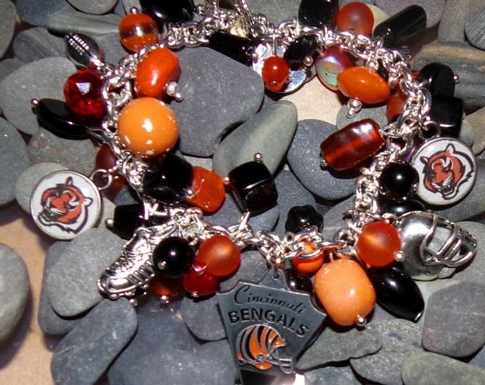 Cincinnati Bengal Bracelet