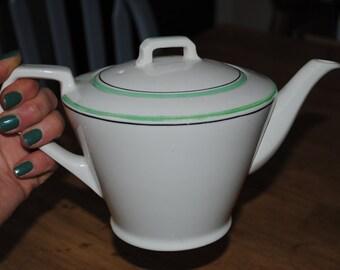 Art Deco Tea pot by Johnson Bros England circa 1930