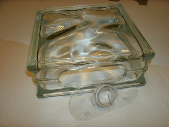 Glass block 8 x 8 x 3 with or without lights crafts for Glass boxes for crafts