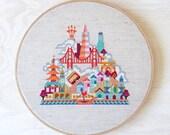 Pretty Little San Francisco - Modern Cross stitch pattern PDF - Instant download